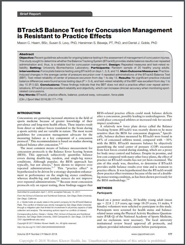 Minimal Effects of Practice Study